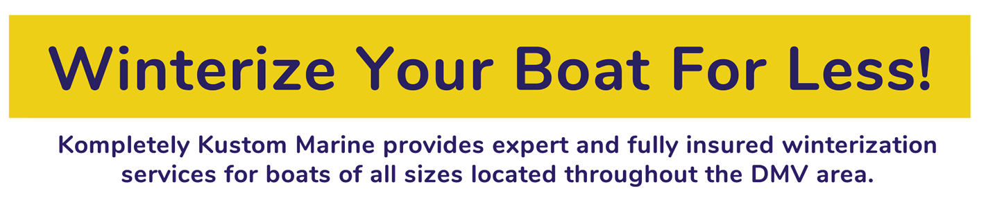 Winterize Your Boat For Less!