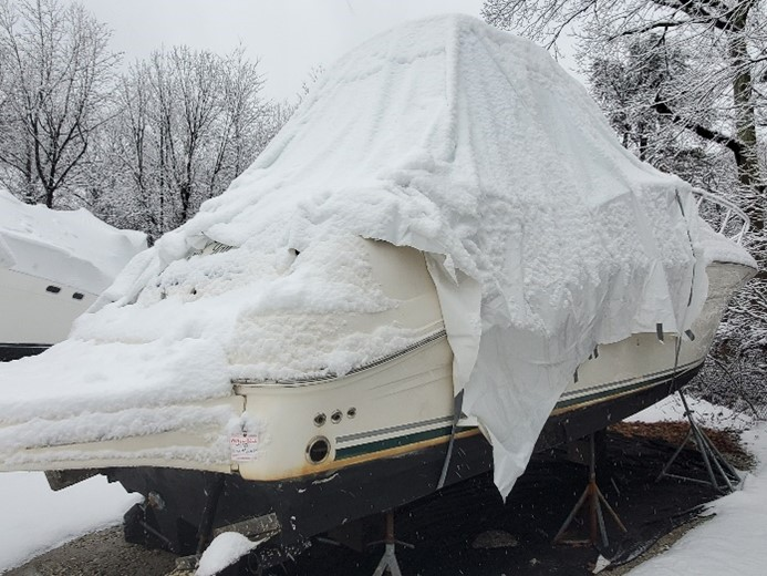 Shrink Wrapping Your Boat